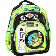 Рюкзак школьный «Велосипед» 41х32х24 см.