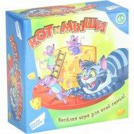 Игра детская настольная «Кот и мыши»
