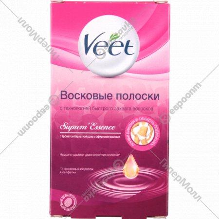 Восковые полоски «Veet» для чувствительной кожи 14 шт.