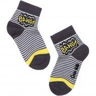 Носки детские «Tip-Tot» темно-серые, размер 12.