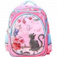 Рюкзак школьный «Кошечка» 41х32х24 см.