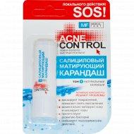 Карандаш салициловый матирующий Acne Control, тон 1, 4.2 г.