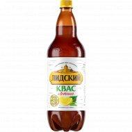 Квас «Лидский» летний, с березовым соком и лимоном, 1.5 л.