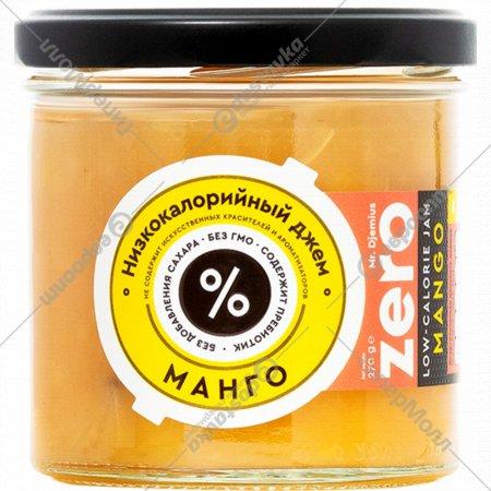 Джем низкокалорийный «Mr.Djemius» манго, 270 г.
