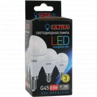 Лампа светодиодная «Ultra» LED, G45, 8.5 W, E14.