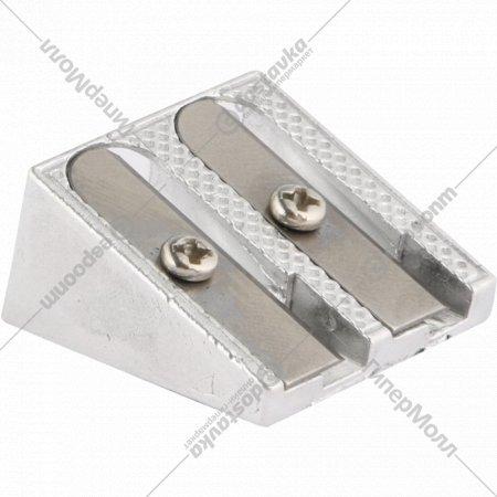 Точилка металлическая, SH1006, 2 отверстия.