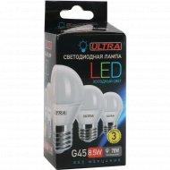 Лампа светодиодная «Ultra» LED G45, 8.5 W, E27.