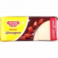 Вафли «Яшкино» шоколадные, 300 г.