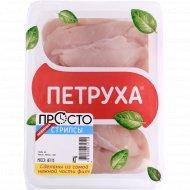Стрипсы из мяса птицы «Петруха» охлажденные, 600 г.