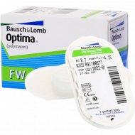 Линзы контактные «Optima FW» polymacon, r8,7/d-4.25.