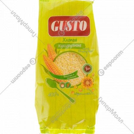 Хлопья кукурузные «Gusto» 400 г.