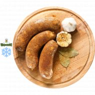 Полуфабрикат колбаса «Папричная» замороженная, 800  г