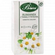 Чайный напиток травяной «Biofix» ромашка с лимонником, 20х1.75 г.