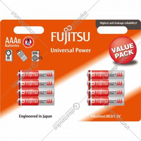 Элемент питания «Fujitsi» AAA/LR03, 8 шт.