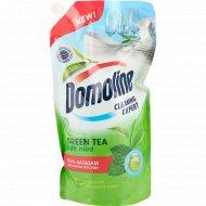 Гель-бальзам для мытья посуды «Domoline» Green tea with mint, 1 л