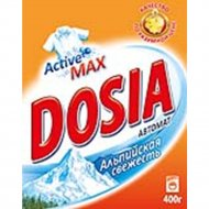 Порошок стиральный « Dosia», Альпийская свежесть, 400г.