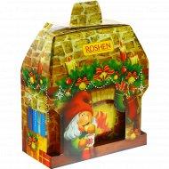 Новогодний набор «Новогодний камин» кондитерских изделий, 640 г.