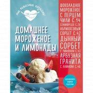 «Домашнее мороженое и лимонады» Гидаспова А.
