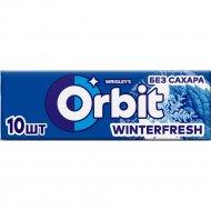 Жевательная резинка «Orbit» winterfresh, 13.6 г.