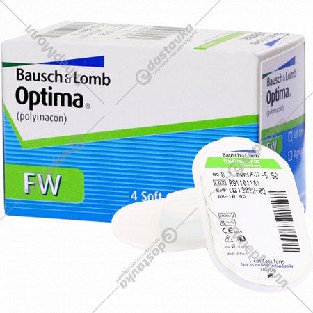 Линзы контактные «Optima FW» polymacon, r8.7/d-5.5.