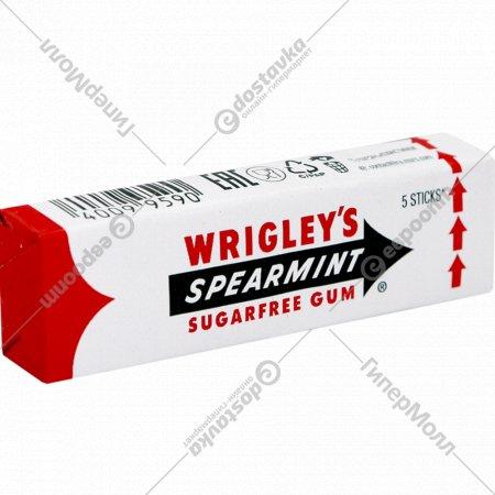 Жевательная резинка «Wrigley`s Spearmint» мята, 13 г.