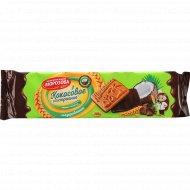 Печенье сахарное «Морозова» кокосовое настроение, 295 г.