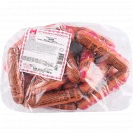 Сосиски из мяса птицы «Сочные» высшего сорта, 1 кг, фасовка 0.3-0.4 кг