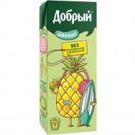 Нектар «Добрый» ананасовый 0.2 л.
