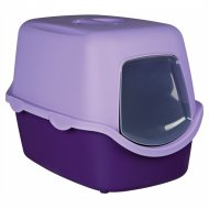 Туалет-дом для кошек «Trixie» Vico, фиолетово-сиреневый, 40х40х56 см.