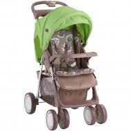 Детская коляска «Lorelli» Foxy Beige-Green Lambs.