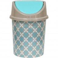 Ведро для мусора с подвижной крышкой, 8 л.