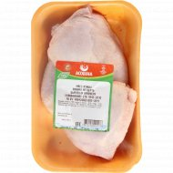 Мясо птицы цыпленка бройлера, 1 кг., фасовка 0.6-0.9 кг