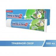 Зубная паста «blend-a-med» травяной сбор 100 мл.