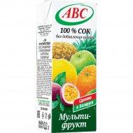 Сок «ABC» мультифруктовый, 200 мл.