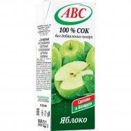 Сок «АВС» яблочный, 200 мл.