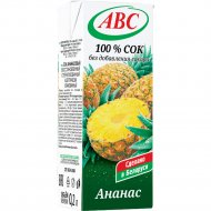Сок «АВС» ананасовый 200 мл.
