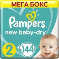 Подгузники «Pampers» New Baby Dry, 4–8 кг, размер 2, 144 шт.