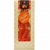 Шоколад белый «Hand-made» с клубникой, 100 г.