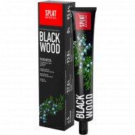 Отбеливающая зубная паста «Splat» blackwood 75 мл.