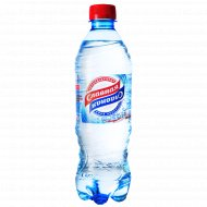 Вода питьевая «Славная» газированная 0.5 л.