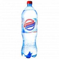 Вода питьевая «Славная» газированная, 1 л.