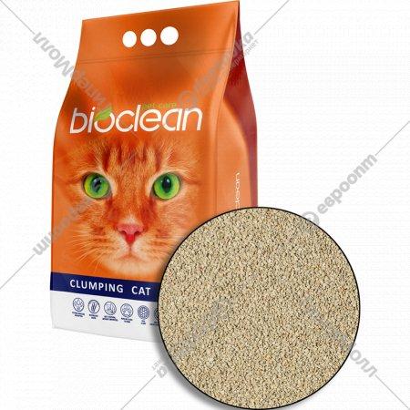 Наполнитель комкующийся «Bioclean» для кошачьего туалета, 5 л.