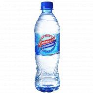 Вода питьевая «Славная» негазированная, 0.5 л.