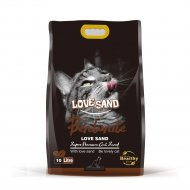 Наполнитель бентонитовый «Love Sand» с ароматом кофе, 10 л.