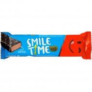 Вафельный батончик «Smile time» со вкусом шоколада, 33 г