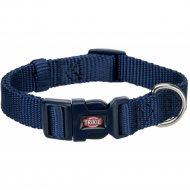 Ошейник «Trixie» Premium Collar, нейлон, L-XL, 40-65смх25мм, индиго.