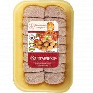 Полуфабрикаты рубленые «Каштанчики» замороженные, 1 кг., фасовка 0.37-0.47 кг