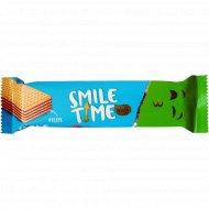 Вафельный батончик «Smile time» фундук, 21 г