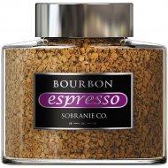 Кофе растворимый «Bourbon Espresso» с добавлением молотого, 100 г.