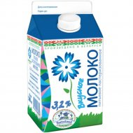 Молоко питьевое «Вкусное» пастеризованное 3.2%, 500 мл.
